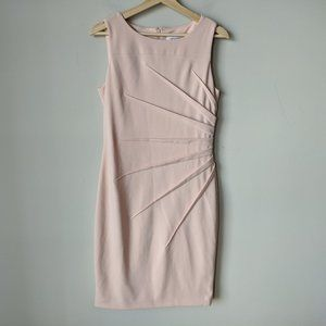 Calvin Klein Pink Sleeveless Dress Star Design 8